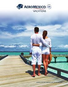 Aeromexico Vacations 2014 Brochure