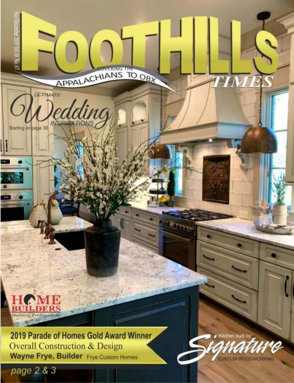 Foothills Times September 2019 November 2019 FOOTHILS TIMES