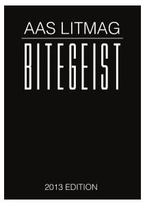 AAS Literary Magazine Bitegeist Dec.2013