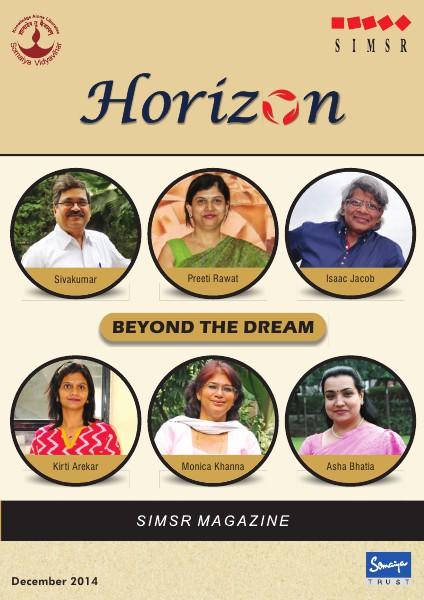 KJ SIMSR Horizon Dec - 2014 issue Dec 2014
