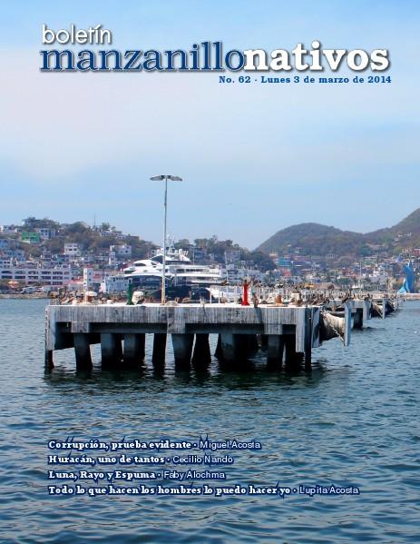 Manzanillo Nativos Boletín 63