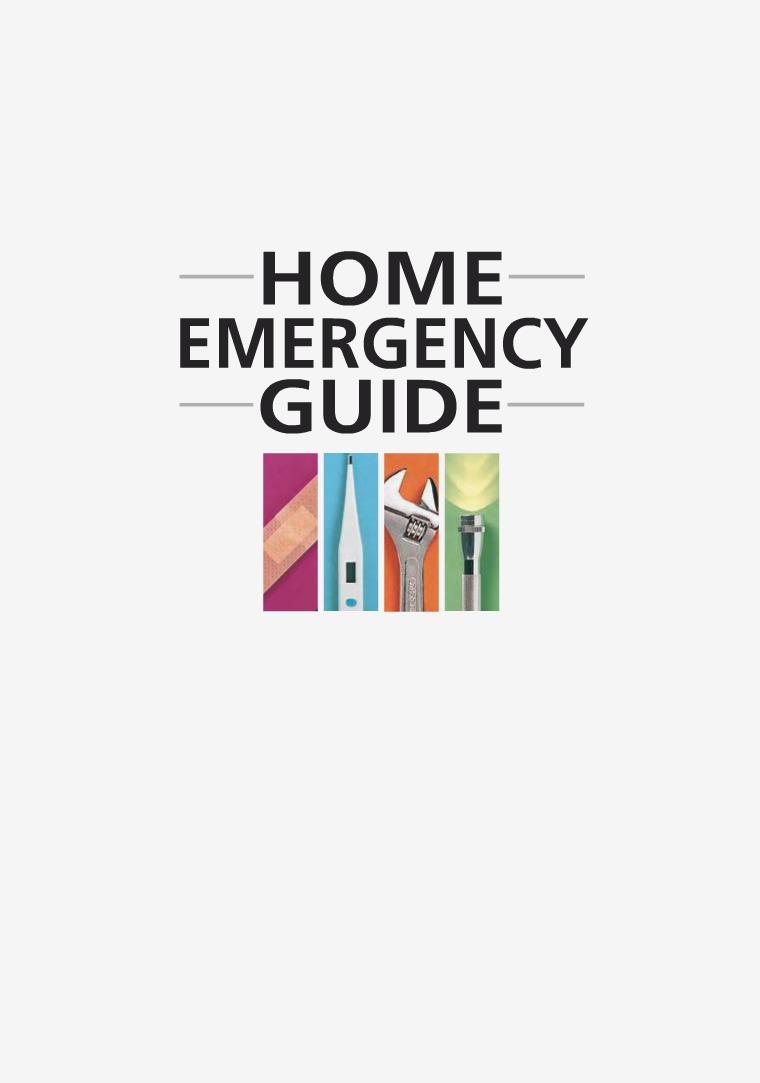 Home Emergency Book Vol 1