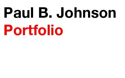 Paul B. Johnson Portfolio