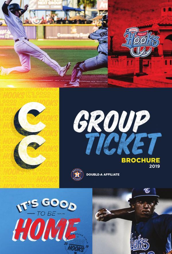 2018 Corpus Christi Hooks Ticket Brochure 2019 Hooks Brochure - FINAL Feb 27