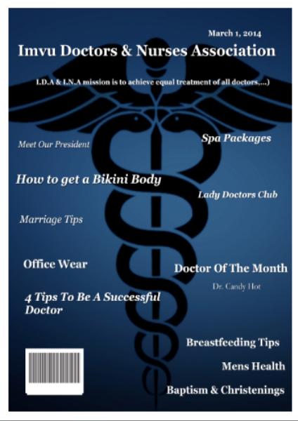 March Edition Health, Wellness & Imvu