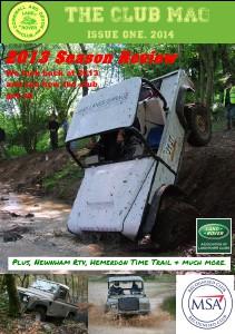 Cornwall & Devon Land Rover Club. The Club Mag spring 2014