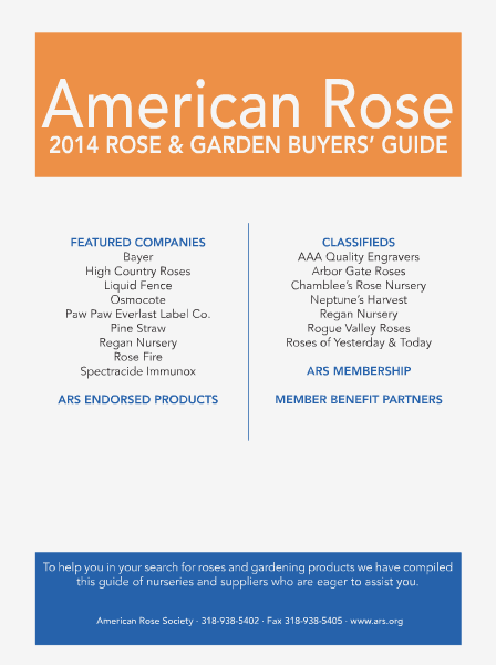 American Rose Rose and Garden Buyers' Guide