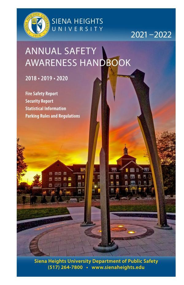 2021-22 SHU Campus Safety Handbook