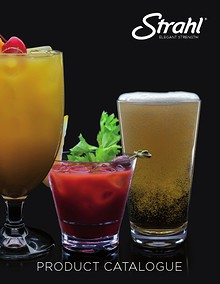 Strahl® Beverageware Catalogues - Large Text