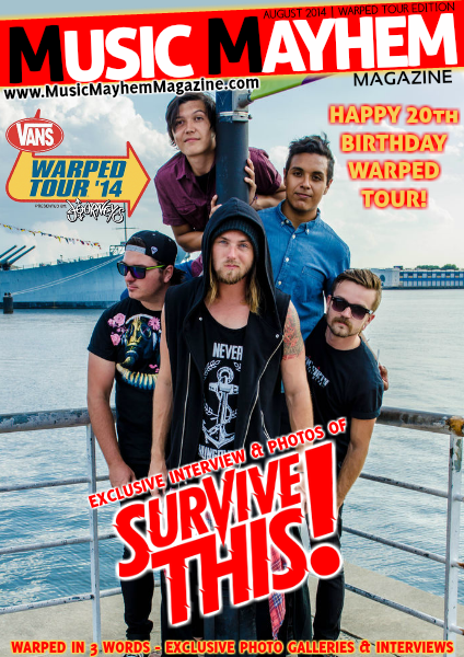 August 2014 : ISSUE #6 (Warped Edition)