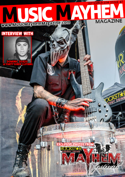 September 2014 : ISSUE #7 (Mayhem Fest Edition)