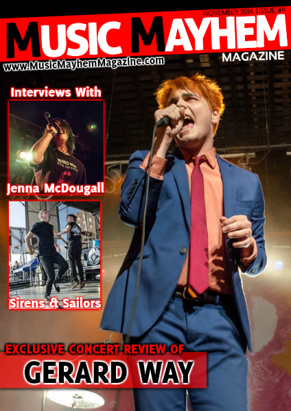 November 2014: ISSUE #9 (Gerard Way Is Back)