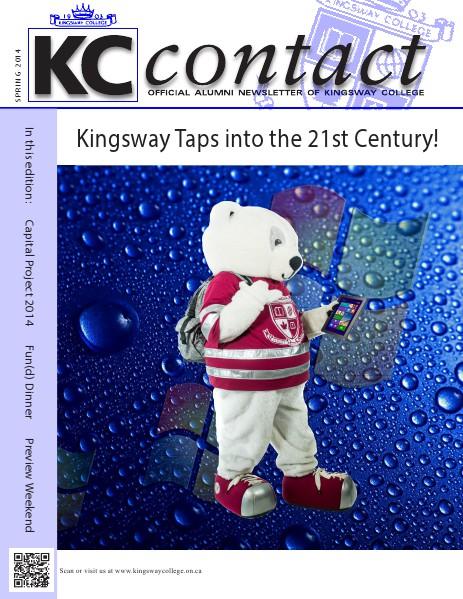 KC Contact Spring 2014 Edition