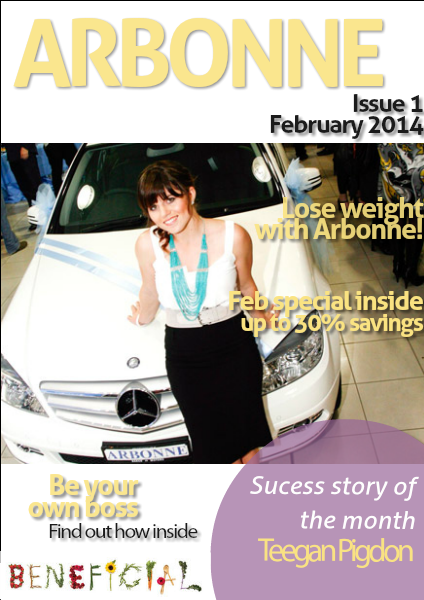 Arbonne Feb. 2014