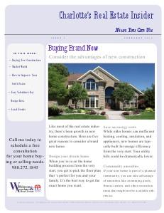 Charlotte's Real Estate Insider Newsletter Issue 3