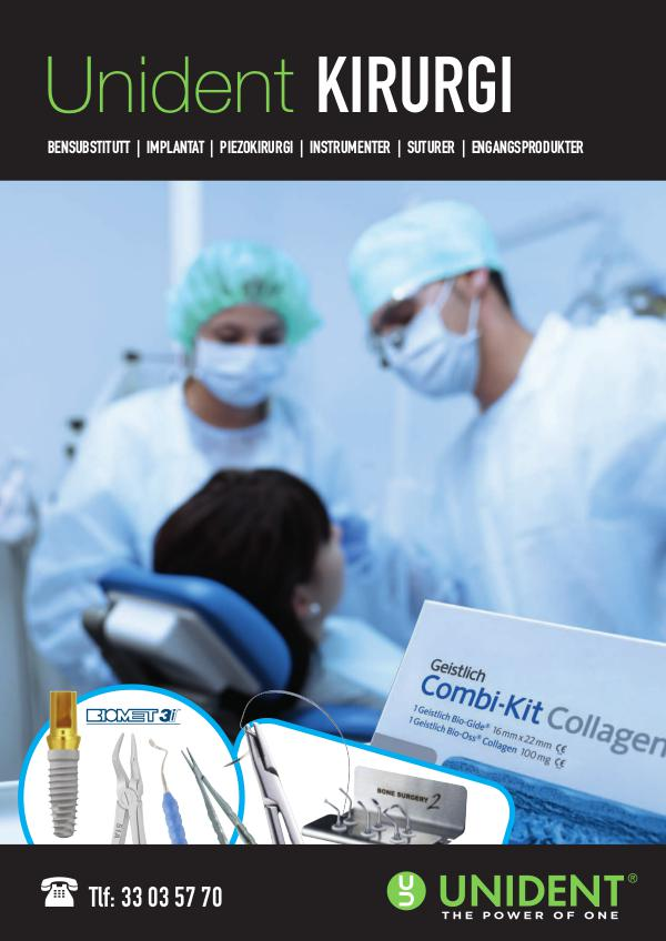 NO Kirurgi Kirurgi sortiment Unident
