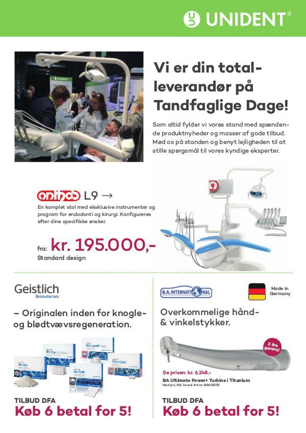 DK Tandfaglige Dage Scandefa 2019 April 2019