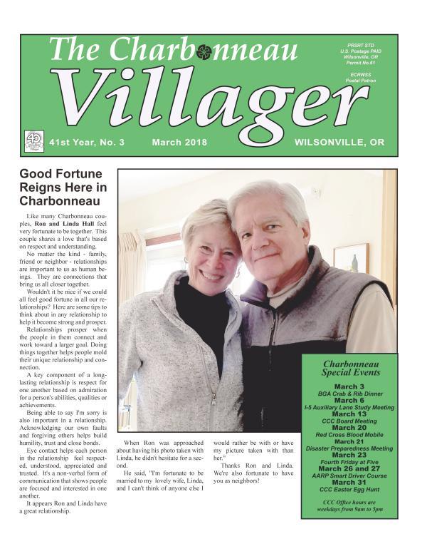 2018 March Villager