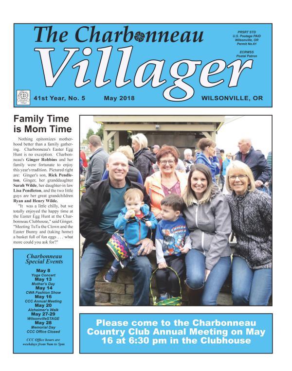 2018 May Villager