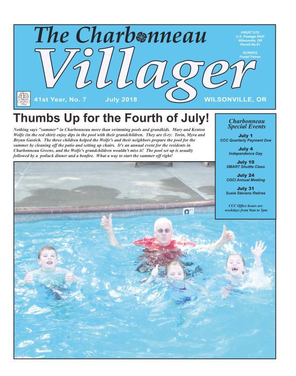 2018 July Villager