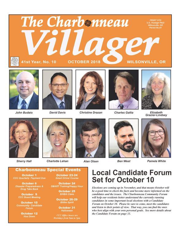 2018 October Villager