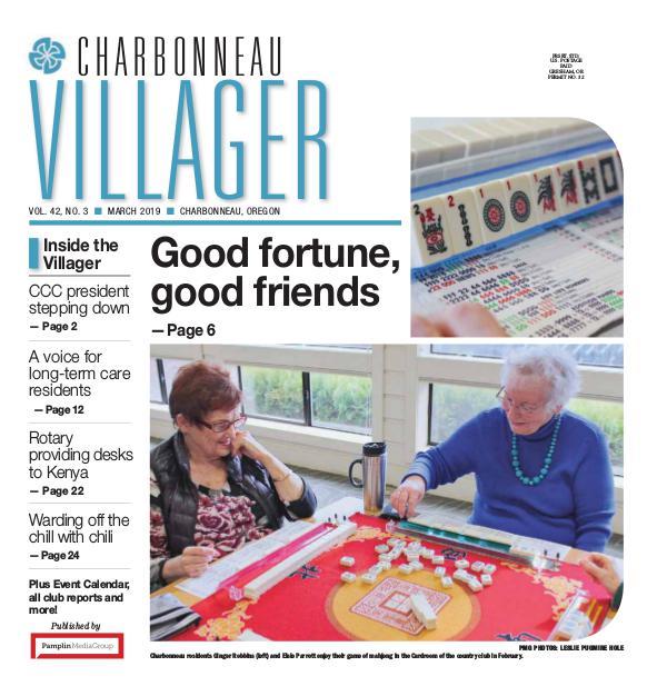 The Charbonneau Villager Newspaper 2019 Mar issue Villager newspaper
