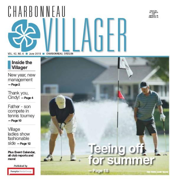 2019 June issue Villager newspaper