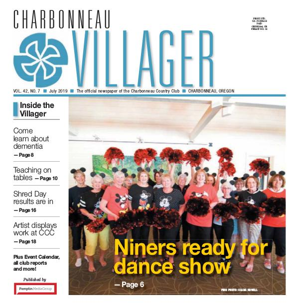 2019 July issue Villager Newspaper