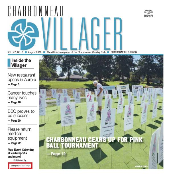 2019_Aug issue Villager newspaper