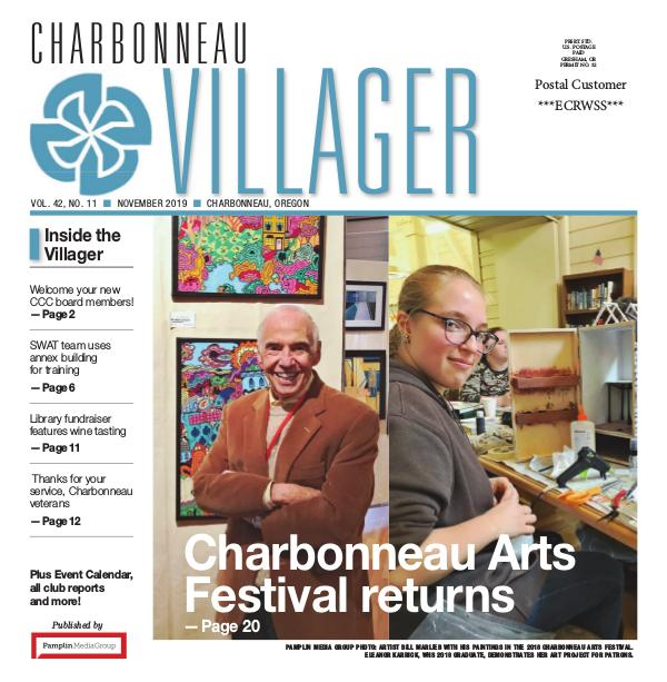 The Charbonneau Villager Newspaper 2019 Nov issue Villager