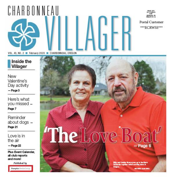 The Charbonneau Villager Newspaper 2020_Feb issue Villager newspaper