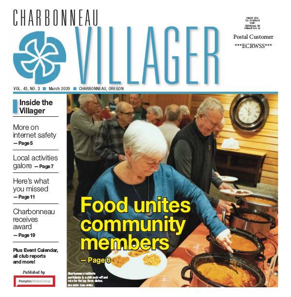 The Charbonneau Villager Newspaper 2020_Mar_issue Villager newspaper