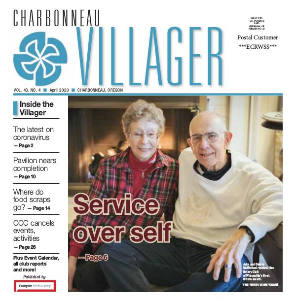 The Charbonneau Villager Newspaper 2020_April issue_Villager newspaper