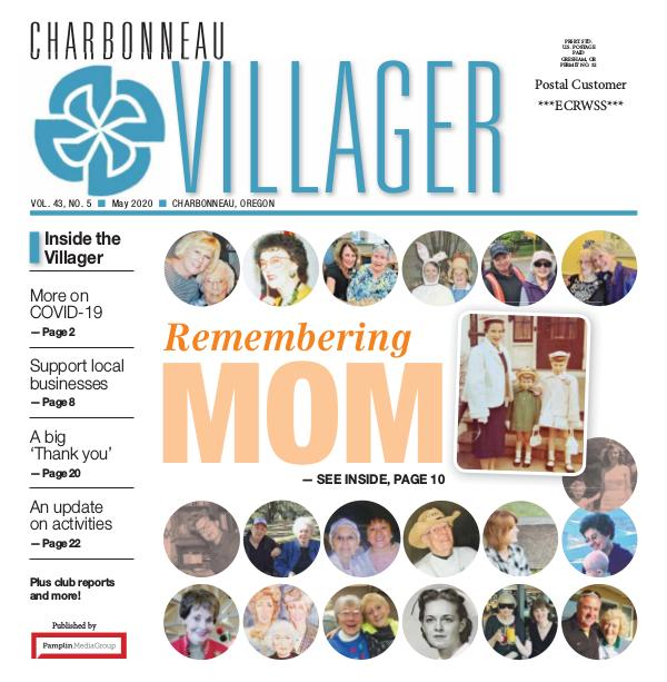 The Charbonneau Villager Newspaper 2020_May issue_Villager newspaper