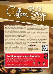 Coffee Shop Goss Kingscliff April 2013