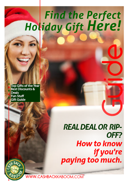 Cash Back Kaboom Holiday Gift guide December 2014