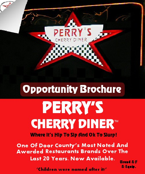 PERRY'S CHERRY DINER BRAND FOR SALE