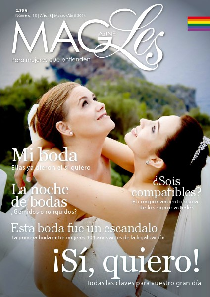 MagLes Revista Lésbica MagLes 13 | ¡Sí Quiero! | Marzo/Abril 2014