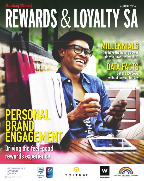 Sunday Times : Rewards & Loyalty 2016 RewardsAndLoyalty2016