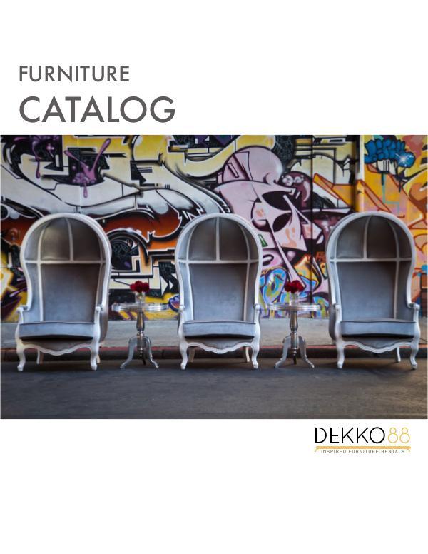 Furniture Catalog 2018 Furniture Catalog 2018