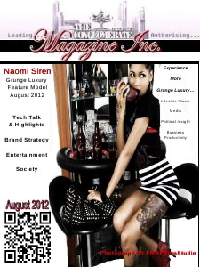 The Digital Conglomerate Magazine Inc. - August 2012 Issue August 2012