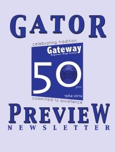 Gator Preview Newsletter Summer 2013