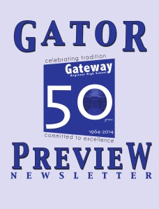 Gator Preview Newsletter Fall 2013
