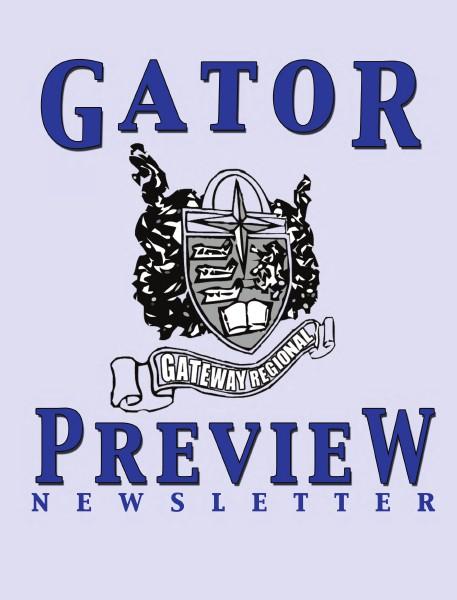 Gator Preview Newsletter Summer 2014