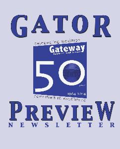 Gator Preview Newsletter Spring 2013