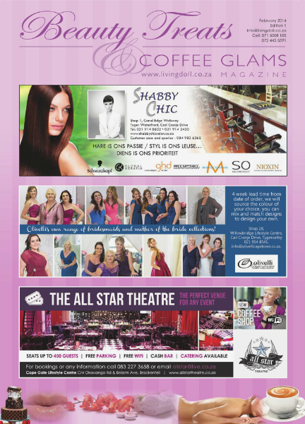 Beauty Treats and Coffee Glams - Feb 2014 (Issue 1) Vol 1