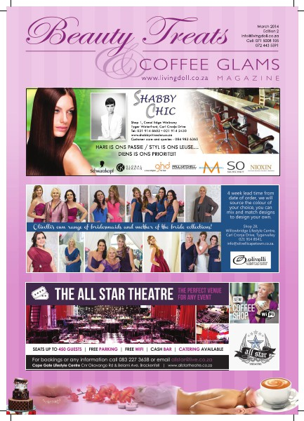 Beauty Treats and Coffee Glams - March 2014 (Issue 2) Vol 1, Issue 2