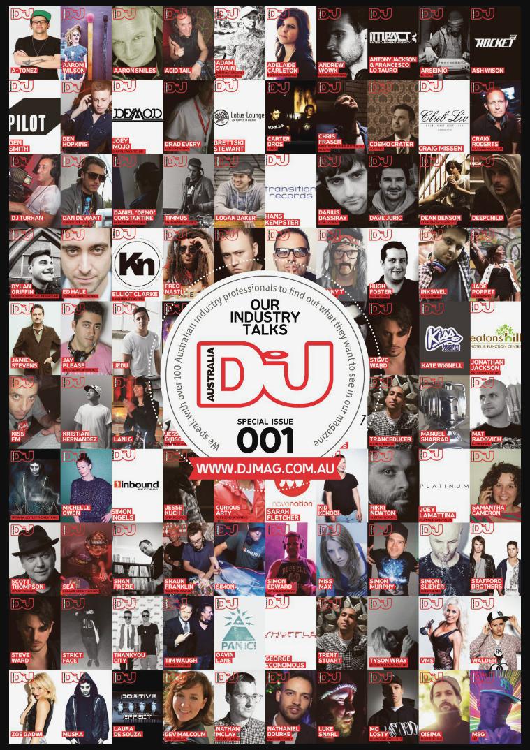 DJ Mag Australia 001 - February 2014
