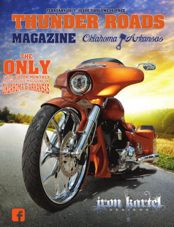 Thunder Roads Magazine of Oklahoma/Arkansas February 2017