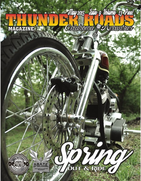 Thunder Roads Magazine of Oklahoma/Arkansas May 2015